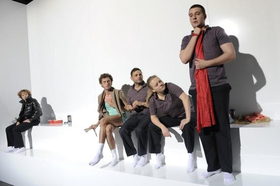 Henriette Cejpek, Andri Schenardi, Stefano Wenk, Milva Stark und Diego Valsecchi (v.l.)Bild|Copyright: Philipp Zinniker