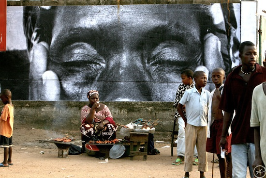 "Szene aus dem Film ""Women are heroes"". Bild: www.womenareheroes-paris.net"