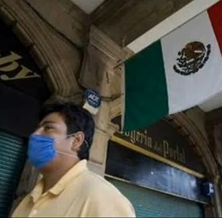 Schweine, Grippe, Mexiko