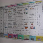 Stundenplan der Wohngruppen