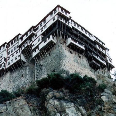 Kloster Dionysiou auf der Halbinsel Athos, GR