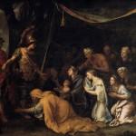 charles lebrun_the family of darius before alexander