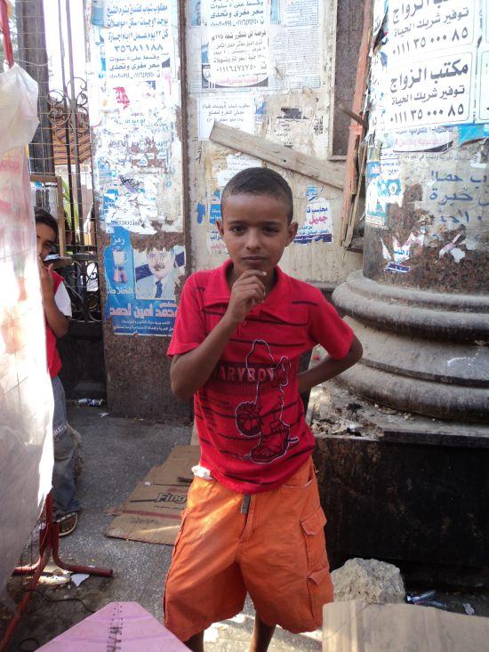 Wesentliches Merkmal von Ägyptern: Neugier