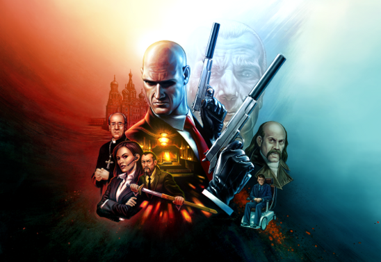 HitmanHD Trilogy Key Art