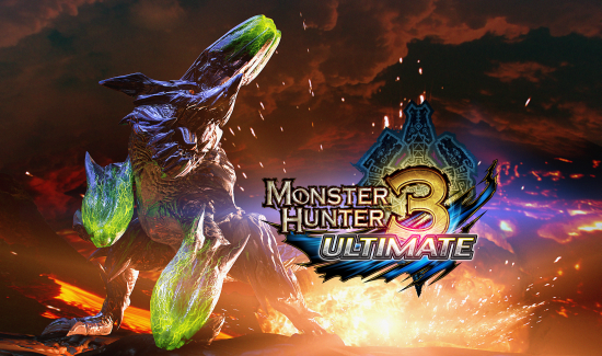 packshot monster hunter 3D Ultimate