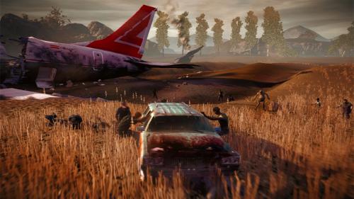 Carpooling in Zombieland