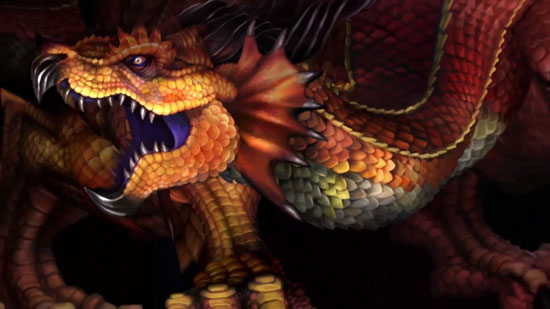 Dragon's Crown Antiker Drache