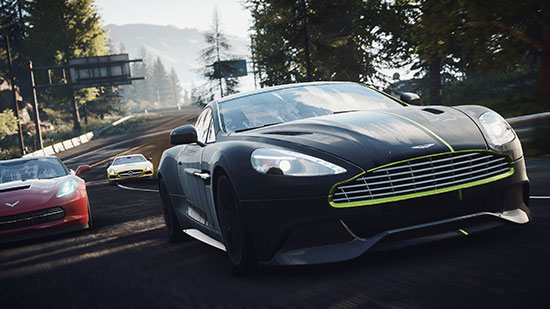 Aston-Martin-Vanquish-in-the-lead
