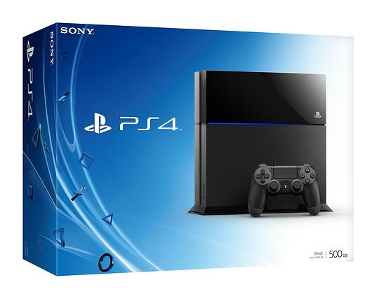 Verpackung der PS4
