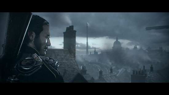 Über den Dächern Londons