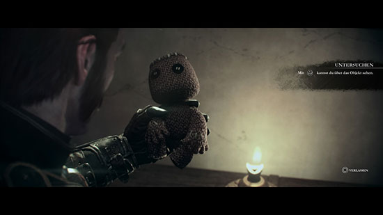 Sackboy Easter Egg