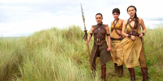 Die Sandsnakes - verantwortlich für die bisher schlechtesten Szenen der Serie.