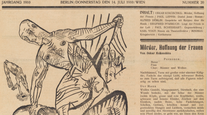 Kunsthaus Zürich |Szenische Lesung | «Mörder, Hoffnung der Frauen» von Oskar Kokoschka