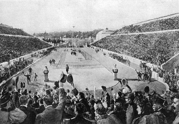 Marathon an den Olympischen Spielen von Athen 1896